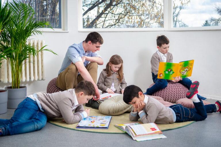 After school club in Royal primary school