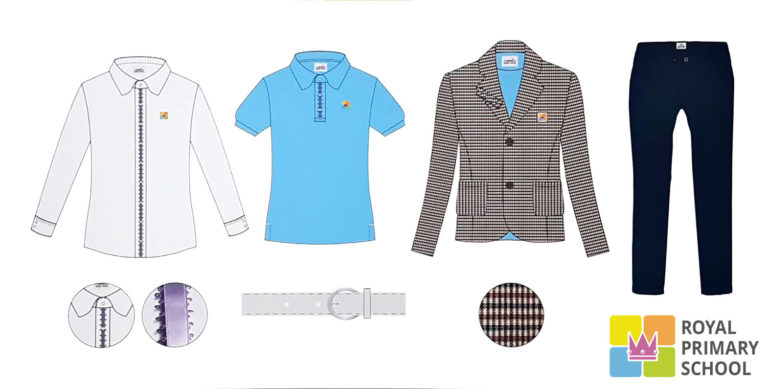 Royal elementary school Prague Troja - variants of school uniforms