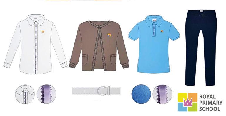 Royal elementary school Prague Troja - variants of school uniforms