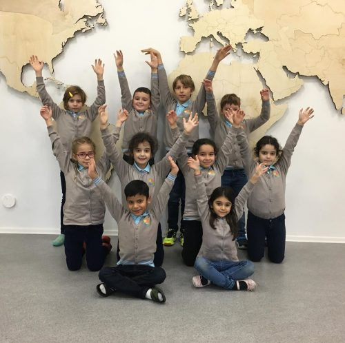 Private international elementary school Prague uniforms