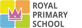 Royal primary school Prague Troja Logo